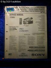 Sony Service Manual CCD TRV15E TRV35E TRV25 TRV65 TRV93 TRV815 TRV215 (#5596)