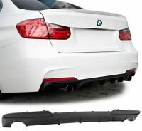 For BMW F10 F11 535 535i Performance diffuser for rear Sport bumper 535D M