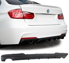 BMW F10 F11 535 535i M Performance diffuser for rear Sport bumper - Spoiler 535D