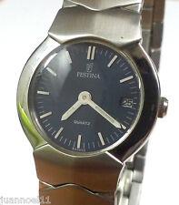 Reloj pulsera mujer FESTINA Quartz 665503 fecha dial azul Original Nuevo