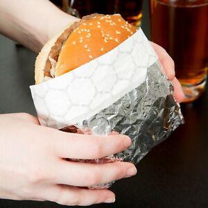 """1000 Case 18"""" x 18"""" Concession Restaurant Insulated Foil Sandwich Wrap Sheets"""