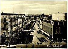Cartolina Lecce - Viale Lo Re Viaggiata