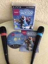 Ps3 juego Disney Sing it película Hits + 2 USB micrófonos. envío rápido!!!