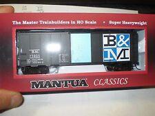 NEW Mantua 41 Stl Box w/Sliding Doors B&M Checkerboard HO 734530 nib new