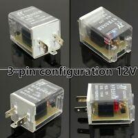 LED FLASHER UNIT RELAY INDICATORS 12V FOR LED LIGHT TURN SIGNAL CONTROL 3 PIN