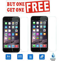 100% HD Genuine Apple iPhone 7 Tempered Glass Film Screen Protector (PACK OF 2)