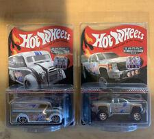 Hot Wheels  Collector's Edition ZAMAC Dairy Delivery Chevy Silverado Off Road