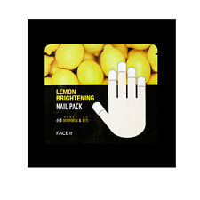 [THE FACE SHOP] Face It Lemon Brightening Nail Pack 2pcs/1pair MADE IN KOREA NEW