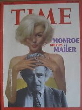 TIME MAGAZINE JULY 16 1973 MARILYN MONROE MEETS MAILER