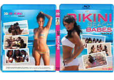 3D Bikini Beach Babes Issue 2 Blu-Ray 3D NICE! 3-D Bluray Movie