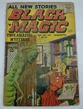 Black Magic Vol 6 #1 (#34) 1957 [1.0 FR] Low Grade Silver Age Prize Comics