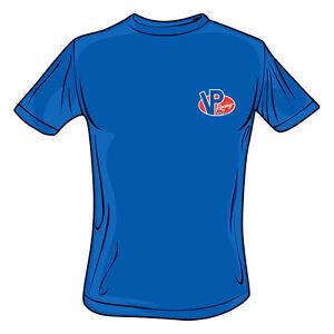 ORIGINAL VP Racing Fuels T-Shirt 100% preshrunk logo on chest/back VP010 Blue