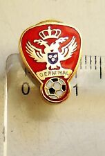 K.F.C. Germinal Ekeren football club crest badge signed pin anstecknadel