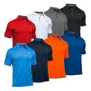 Under Armour 1290140 Men's UA Tech Performance Loose-Fit Golf Polo Team Shirt