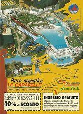 X2936 Parco acquatico Le Caravalle - Ceriale - Pubblicità 1995 - Advertising