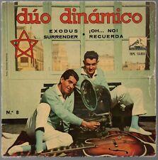 "Duo Dinamico Exodus Surrender EP 7"" Single 1961"