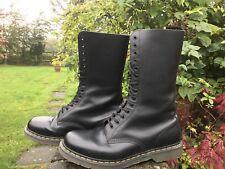 Dr Martens Doc Martens 14 trous 1914 en cuir noir skinhead Boots UK 11 EU46