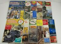 Model Railroading Magazine Lot Of 12 Complete Year 1987