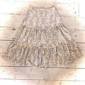 Vintage 1970's Tiered Boho Skirt Size 8