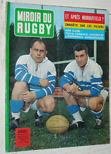 MIROIR RUGBY N°13 1962 TOURNOI V NATIONS XV CAMBERABERO TULLE CASTRES CARMAUX
