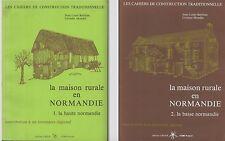 BOITHIAS-MONDIN:La Maison Rurale en Normandie.Hte Norm.,Basse Norm.architecture