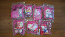 McDonalds Sanrio 2004 Happy Meal Hello Kitty Complete Set of 8 New