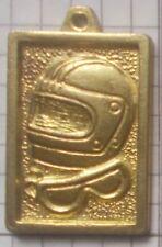 METALLFIGUREN SOLDATINI KINDER MEDAL CASCO PILOTA 4 CM ORO GOLD 2E 051