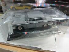 DelPrado - Scale 1/43 - PEUGEOT 404 - Silver - Mini Toy Car