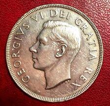 1951 Canada Silver Dollar $1 Coin
