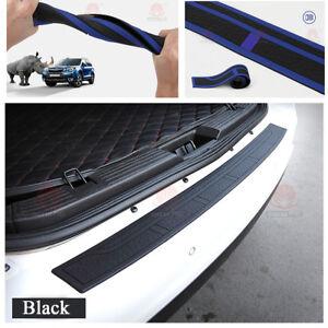 Car Accessories Rear Bumper Guard Protector Cover Sill Plate Trunk Rubber Pad