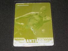 JORGE SANTIAGO 2013 TOPPS YELLOW PRINTING PLATE CERTIFIED UFC CARD #1/1 RARE