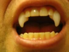 Halloween vampire teeth dracula kit. Make your own fangs! 1 oz polymorph plastic