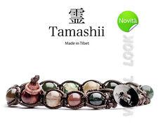 BRACCIALE ORIGINALE TIBETANO TAMASHII AGATA MUSCHIO MOOSK - BHS900-17