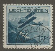 Liechtenstein 1930 C4 Air Post Stamp- Used