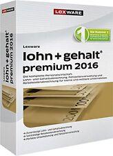 Lexware lohn+gehalt premium 2016 (V16.0) - NEU und versiegelt -