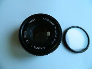Ricoh Rikenon P 1:2 50 mm  Lens