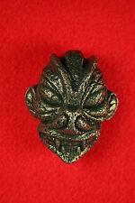 PAZUZU HEAD Belt Buckle - Demon Exorcist Babylonian God Antique Brass Finish