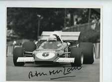 Arturo Merzario Ferrari 312 B2 di British Grand Prix 1972 firmato fotografia 1