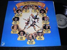 BELL Records Movie Soundtrack LP THE THREE MUSKETEERS Michel Legrand 1974 Orignl