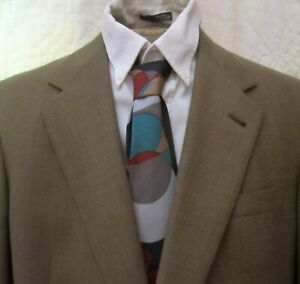 NEW Worsted Wool $435 Sport Coat by AUSTIN REED Light Brown