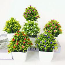 Outdoor Flower Fake False Plants  In Pot Flowers Artificial Garden Party Decor
