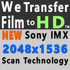 50 FT 8MM SUPER 8 16MM HOME MOVIE FILM TRANSFER TRUE1920x1080p HD MOV AVI MP4