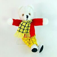 """Vintage Rupert the Bear 1986 13"""" Soft Plush Collectable Toy Lovely Condition"""