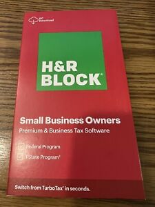 H&R BLOCK 2020 SMALL BUSINESS OWNERS PREMIUM BUSINESSES. Download Only