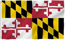 ANLEY Maryland State Flag MD Banner States of US Flags Polyester 3x5 Foot