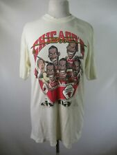 E9932 VTG Chicago Bulls NBA Basketball SIX PACK 50/50 Graphic T-Shirt Size L