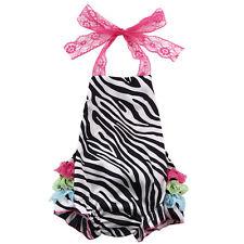 Newborn Baby Girls Floral Lace Romper Bodysuit Jumpsuit Outfits Sunsuit Clothes