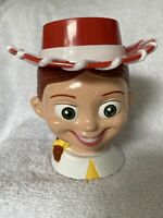 JESSIE The COWGIRL Disney On Ice Toy Story 2  Plastic Mug Cup with Flip Lid