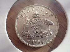 1956 Australian Sixpence UNC   (Lot T748)