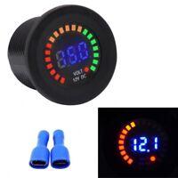 Car Motorcycle Mini LED Digital Voltmeter Voltage Meter Guage Volt Tester 12V AU